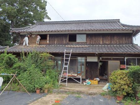古民家リノベーション~キッチン作り&窓開け_f0208315_00423195.jpg