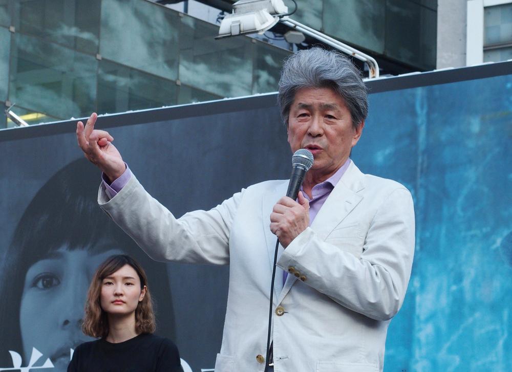 都知事選 鳥越俊太郎候補の個人演説会にぜひ_b0190576_01040121.jpg