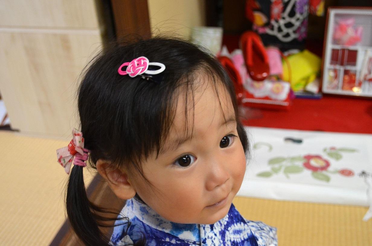 子ども用、水引髪飾り_d0230676_1642226.jpg