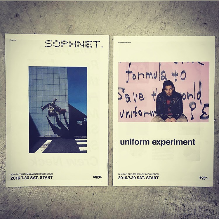 SOPHNET. & UE 2016 A/W COLLECTION Coming soon..._c0079892_19481266.jpg