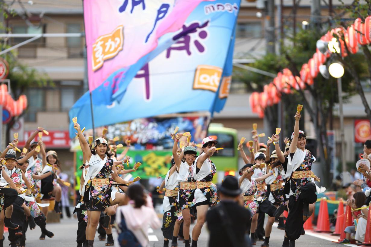 草加駅前よさこいサンバフェスティバル2016_f0184198_16344594.jpg
