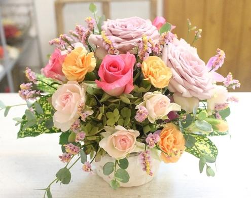 お誕生日のお祝い 生花アレンジメント_d0227610_11311294.jpg