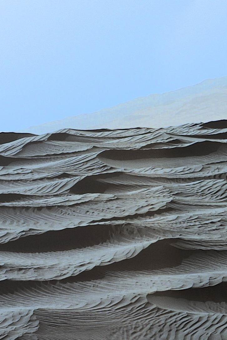 火星探査車キュリオシティが捉えた火星のナミブ砂丘の様子_d0063814_16163239.jpg
