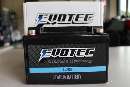 z1100R EVOTECエヴォテックリチウムバッテリー!_f0231916_18193025.jpg