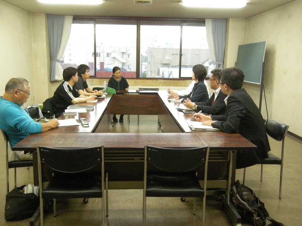 2016年7月26日(火) 北海道教育委員会の方々との意見交換会_f0202120_09255087.jpg
