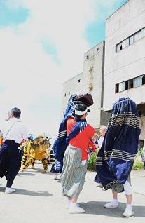 さめ浜まつり 鮫神楽_c0299631_2328936.jpg