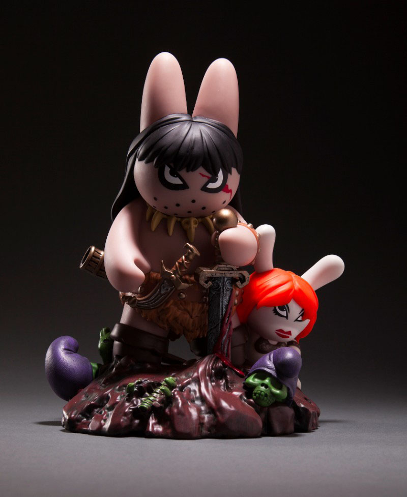 Labbit the Barbarian by Frazetta and Kozik_e0118156_1342533.jpg