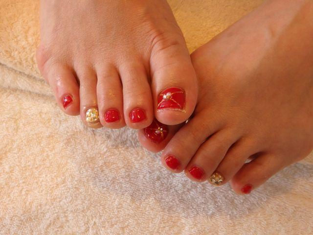 Red Foot Nail_a0239065_11495028.jpg