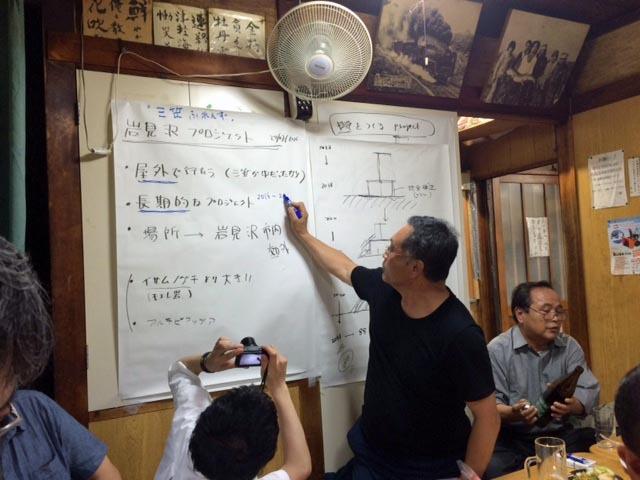 川俣正岩見沢プロジェクト2016/三船_c0189970_09094477.jpg
