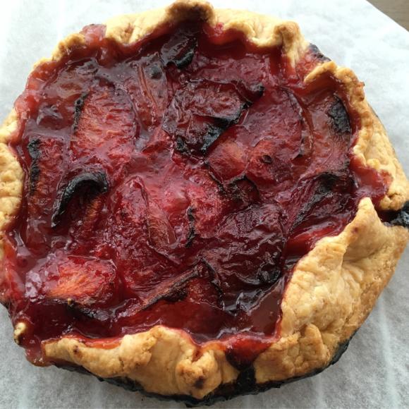 初夏のフルーツたっぷり焼き込みパイと、_b0065587_15365856.jpg