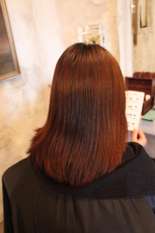 矯正毛にカラーリング_b0210688_11453062.jpg