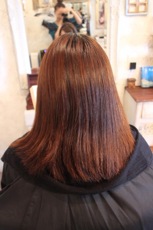 矯正毛にカラーリング_b0210688_1145847.jpg