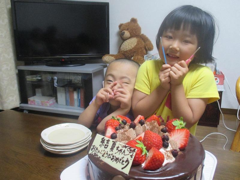 7月28日(木)・・・娘、5歳の誕生日_f0202703_2322597.jpg
