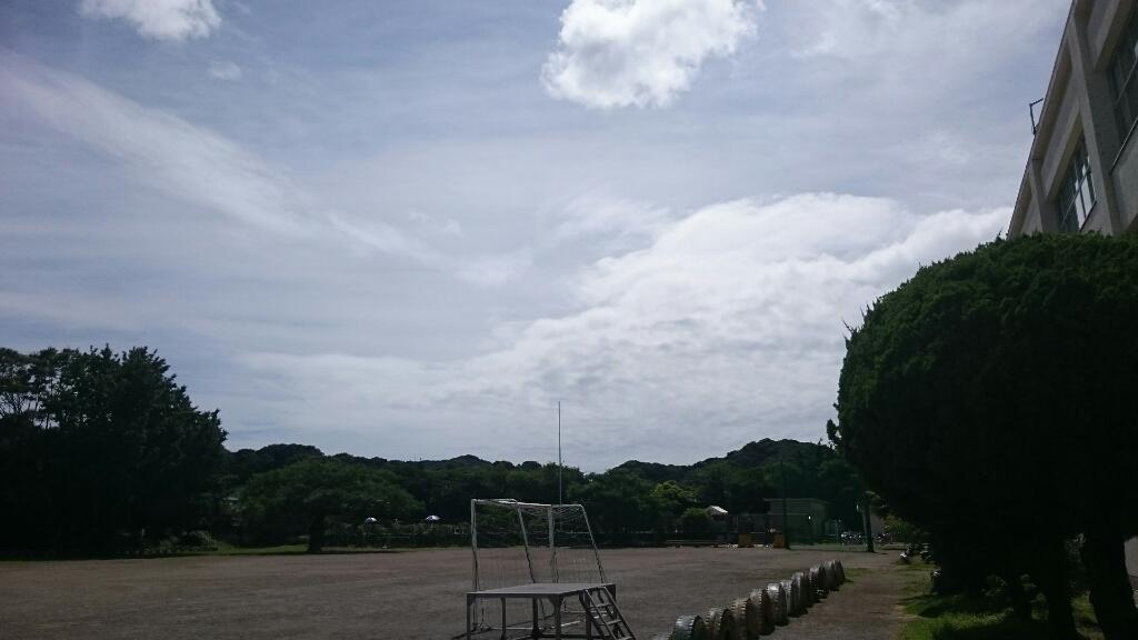 梅雨明けの空のもと_b0211757_14191665.jpg