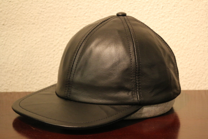 【NEW ARRIVAL】- CAPAS Leather Cap -_b0121563_1536113.jpg
