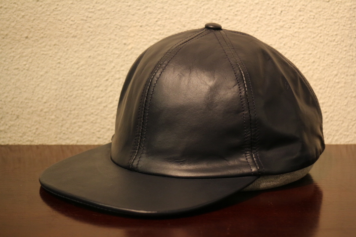 【NEW ARRIVAL】- CAPAS Leather Cap -_b0121563_15363125.jpg