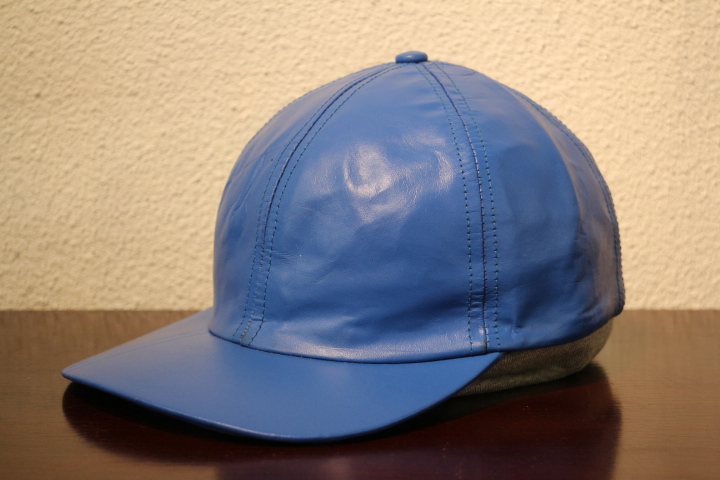 【NEW ARRIVAL】- CAPAS Leather Cap -_b0121563_15364723.jpg
