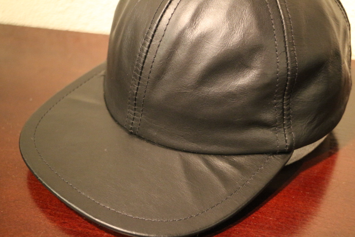 【NEW ARRIVAL】- CAPAS Leather Cap -_b0121563_1538194.jpg