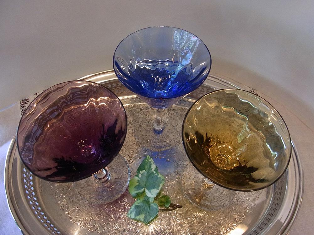 美しいカクテル・グラスです..._d0127182_172637.jpg