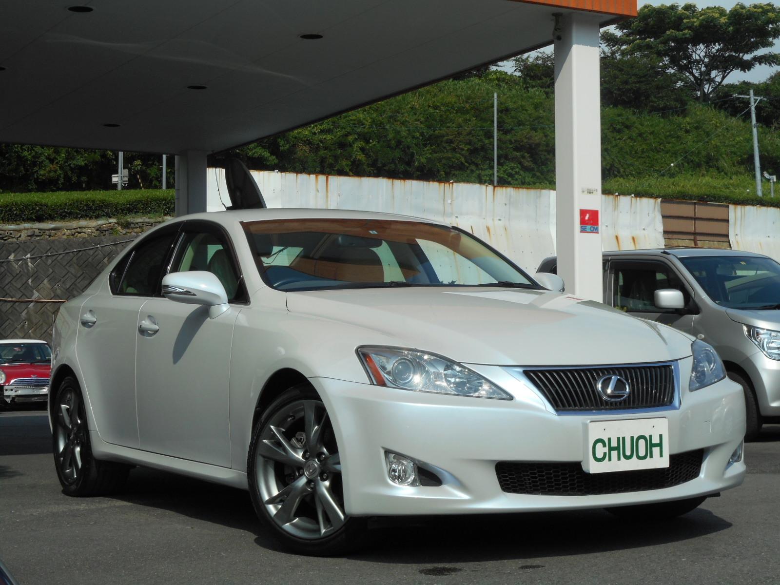 特選車ご紹介:レクサスIS250バージョンL_c0267693_11165716.jpg