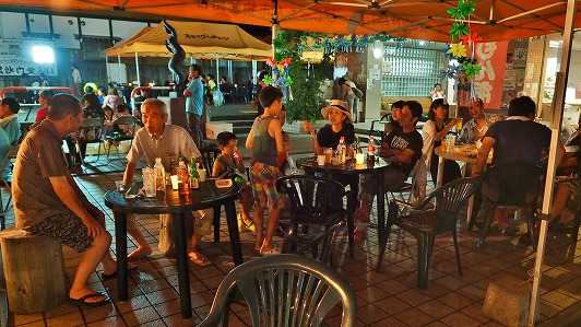 毘沙門通りの「生ビール&鮎まつり」その2_c0336902_20242036.jpg