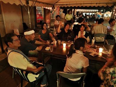 毘沙門通りの「生ビール&鮎まつり」その2_c0336902_202484.jpg