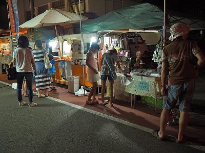 毘沙門通りの「生ビール&鮎まつり」その2_c0336902_2025179.jpg