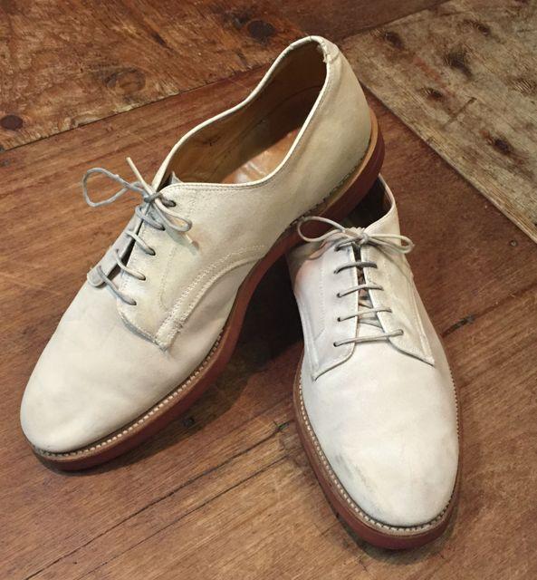 7月30日(土)入荷!!60s Jarman shoes ホワイトバックス!!_c0144020_14301132.jpg