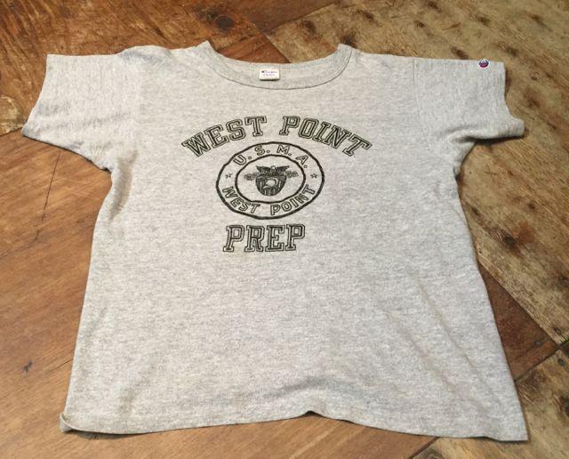 7月30日(土)入荷!!80s チャンピオン トリコタグ U.S.M.A WEST POINT Tシャツ!_c0144020_14383831.jpg