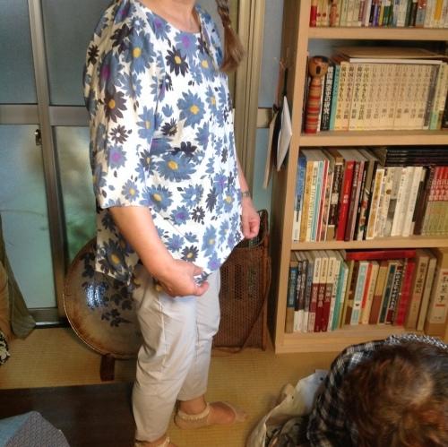 夏の『ちくちく手縫いの会』涼しいブラウスできました!_b0153663_15172609.jpeg