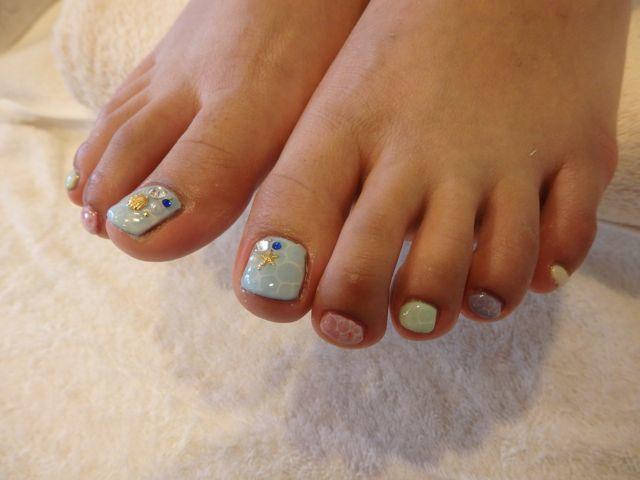 Sea Foot Nail_a0239065_13153930.jpg