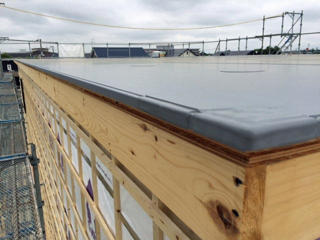 いえのえほん施工篇6/木造屋根シート防水_c0189970_16355666.jpg