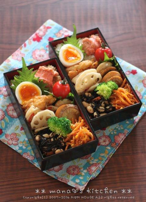 惣菜盛り合わせ弁当 ✿ フーちゃんぷるー♪_c0139375_11591484.jpg