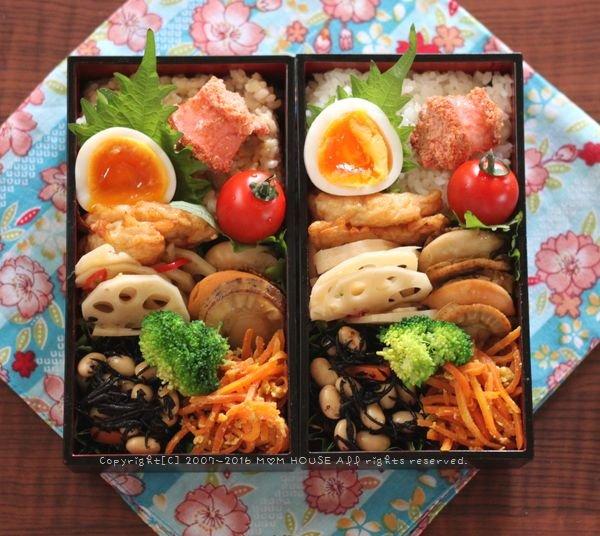 惣菜盛り合わせ弁当 ✿ フーちゃんぷるー♪_c0139375_11592636.jpg