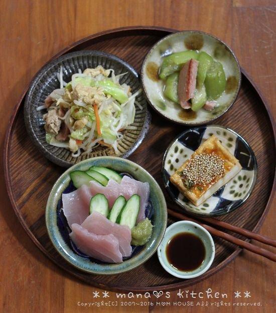 惣菜盛り合わせ弁当 ✿ フーちゃんぷるー♪_c0139375_11593793.jpg