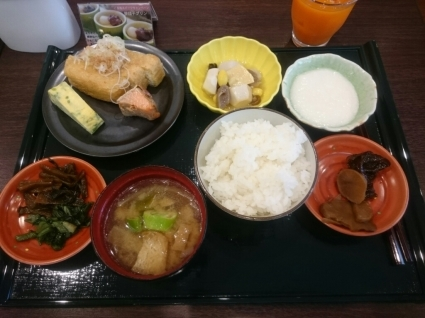 7/30  朝食バイキング@ホテル法華クラブ新潟長岡_b0042308_09452678.jpg