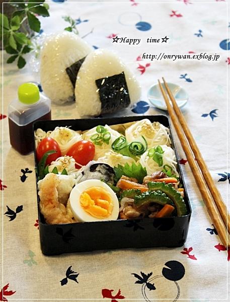 素麺弁当と土用の丑の日なので♪_f0348032_17480835.jpg