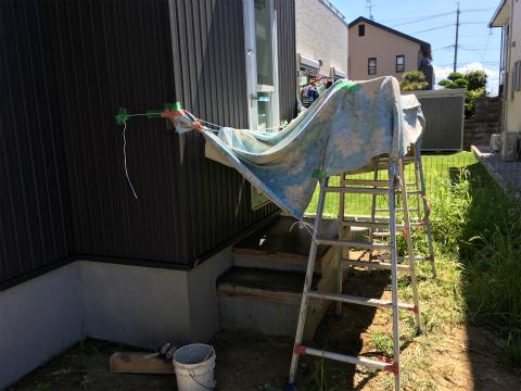 大島 Oさんの家 ★塗装工事、左官工事_d0205883_18224266.jpg