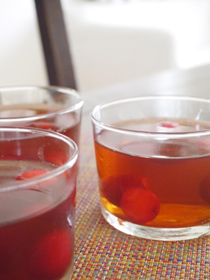 *紅茶ゼリーとアナベル*_f0361692_11343195.jpg