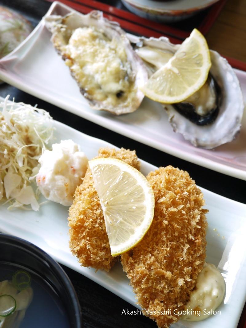 梅と牡蛎づくし定食_f0361692_11374821.jpg