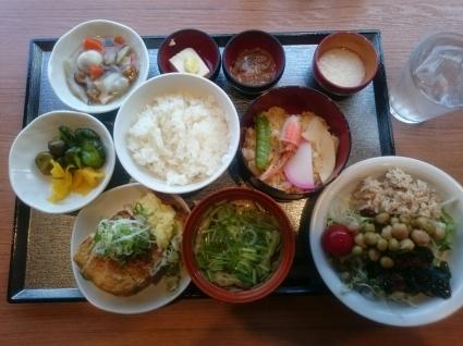 7/31  朝食バイキング@天然温泉多宝の湯 ドーミーイン新潟_b0042308_12582502.jpg