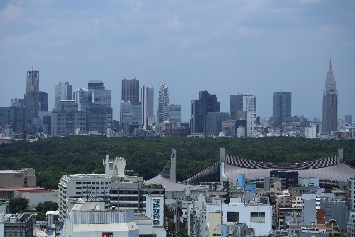 渋谷 いきつけの喫茶「パリス」界隈を見おろす_b0061717_21422592.jpg