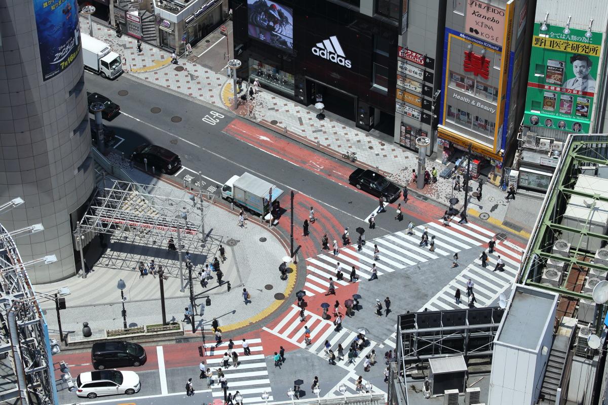 渋谷 いきつけの喫茶「パリス」界隈を見おろす_b0061717_21503760.jpg
