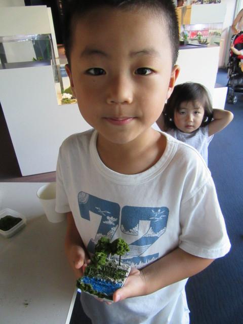 7月29日 京都水族館盆ラマワークショップより_f0227828_20501594.jpg