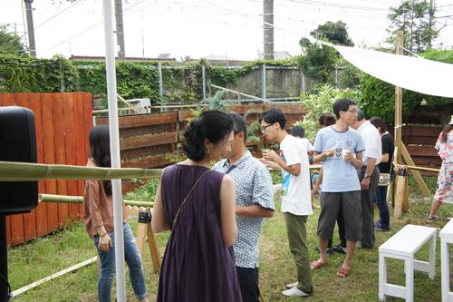 ~竹細工と流し素麺の夕べ~開催しました♪_b0213031_23591890.jpg