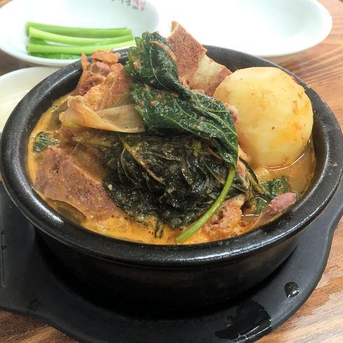 ソウル旅行 その16 感動の朝食@「光化門トゥッカム」のおひとりカムジャタン♪_f0054260_11472416.jpg