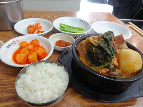 ソウル旅行 その16 感動の朝食@「光化門トゥッカム」のおひとりカムジャタン♪_f0054260_11504135.jpg