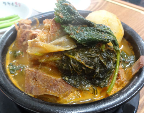 ソウル旅行 その16 感動の朝食@「光化門トゥッカム」のおひとりカムジャタン♪_f0054260_115246.jpg