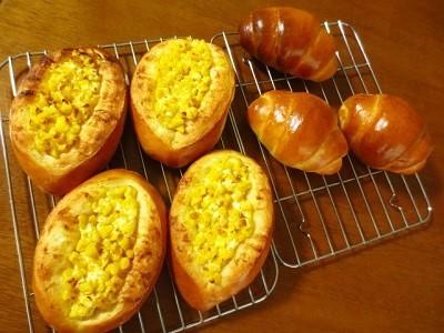 今度はマヨコーンパン作りました♪ 土用の丑の日♪_f0231189_15222703.jpg