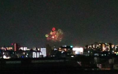 堺から見た富田林のPLの花火(岡)_f0354314_22133219.png